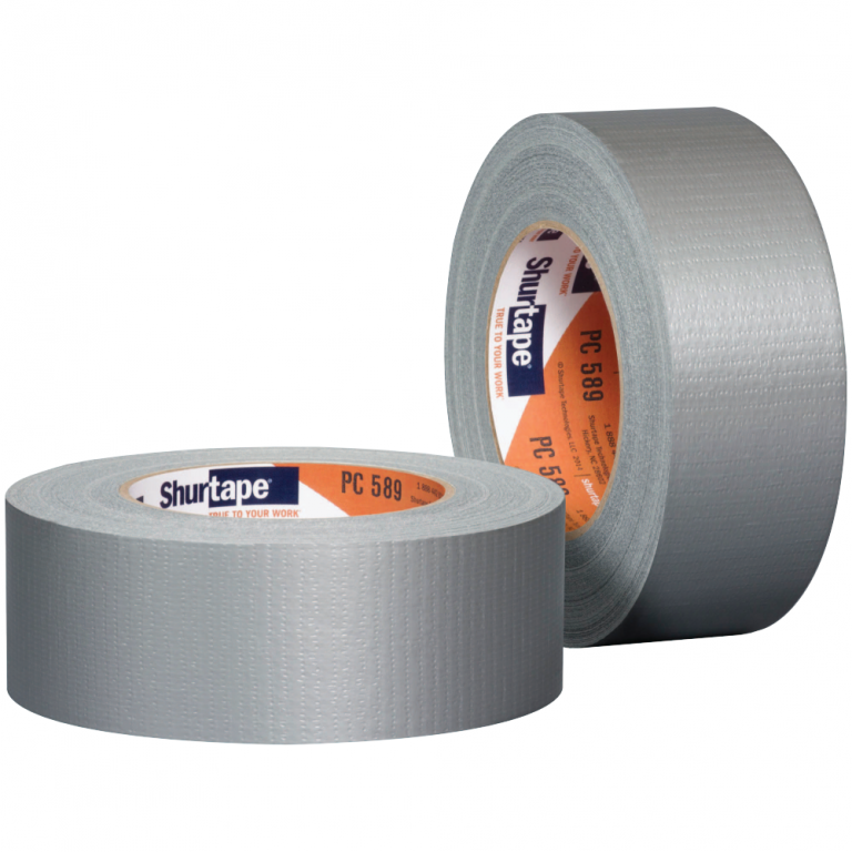 "T.R.U Utility Grade Cloth Duct Tape Lenght. Gray 2/"" Wide X 60 Yd"